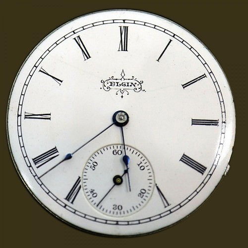 Elgin Grade 133 Pocket Watch Image