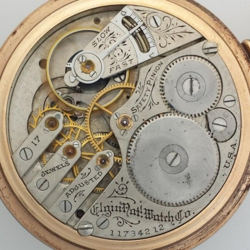 Elgin Grade 244 Pocket Watch Image