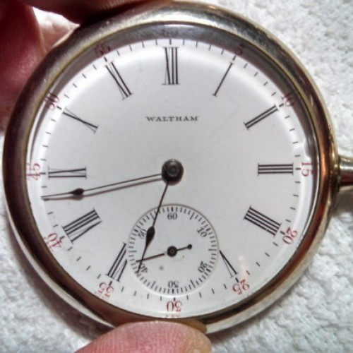 Waltham Watches Photo Gallery   Pocket Watch Database