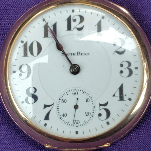 South Bend Grade 329 Pocket Watch Image