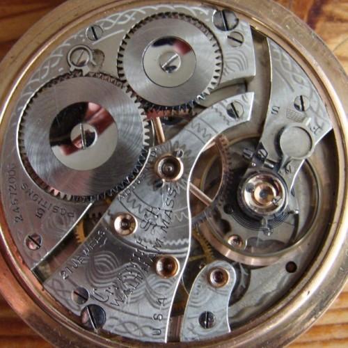Waltham Grade Crescent St. Pocket Watch Image