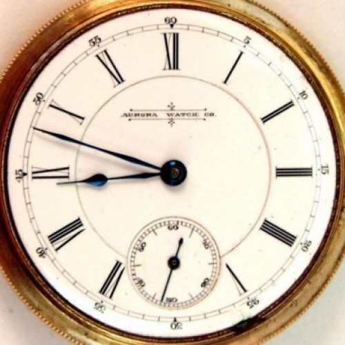 Image of Aurora Watch Co.  #48029 Dial