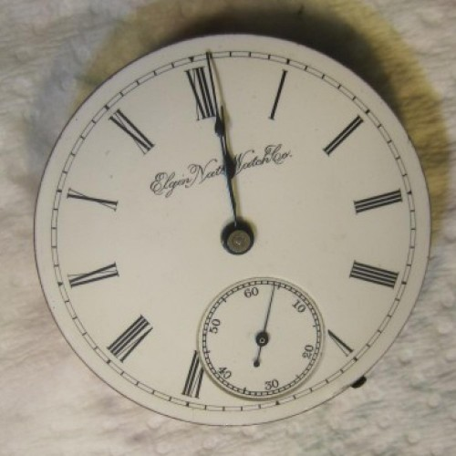 Elgin Grade 102 Pocket Watch Image
