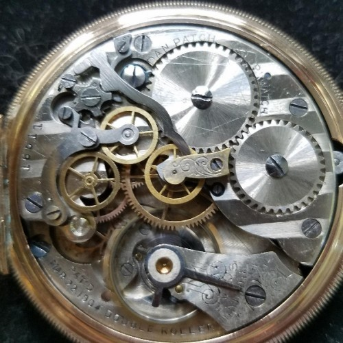 New York Chronograph Watch Co. Grade  Pocket Watch Image