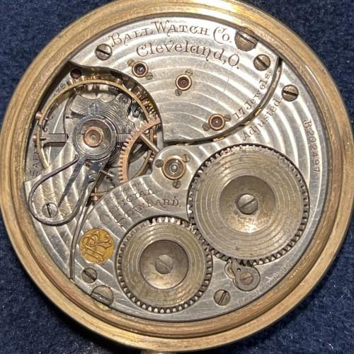 Ball Grade Official Standard Pocket Watch Image
