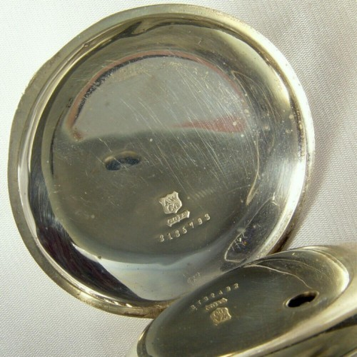 E.H. Flint Grade  Pocket Watch Image