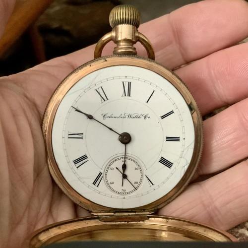 Columbus Watch Co. Grade 93 Pocket Watch Image