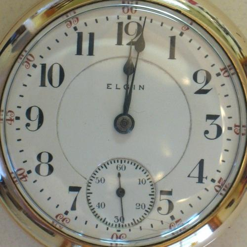 Elgin Grade 180 Pocket Watch Image