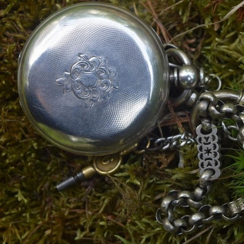American Watch Co. Grade Adams Street Pocket Watch Image