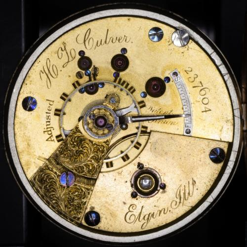 Elgin Grade 61 Pocket Watch Image