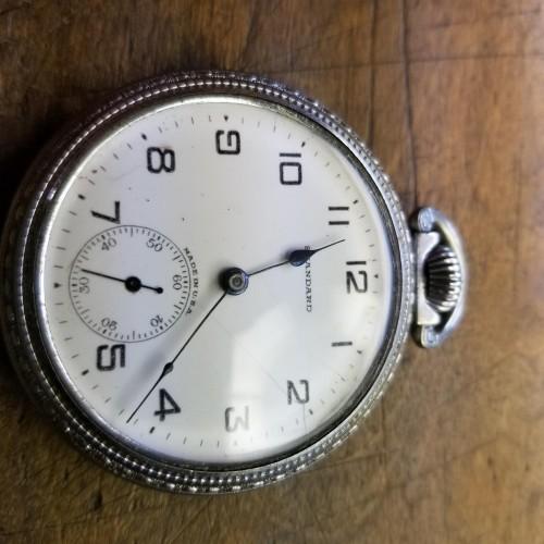 New York Standard Watch Co. Grade 95 Pocket Watch Image
