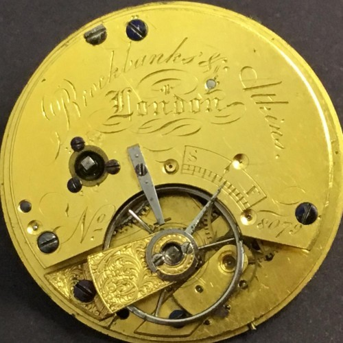 Other Grade Brockbanks & Atkins Pocket Watch Image