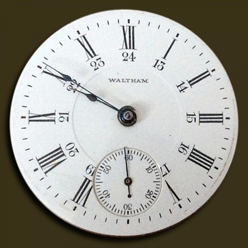 Image of Waltham No. 825 #14890954 Dial
