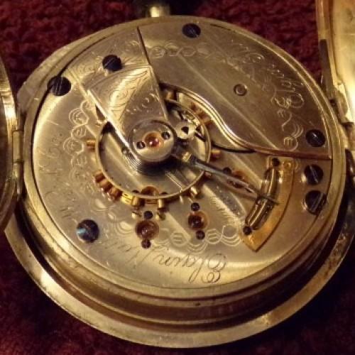 Elgin Grade 44 Pocket Watch Image