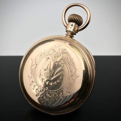 Illinois Grade Miller Pocket Watch Image