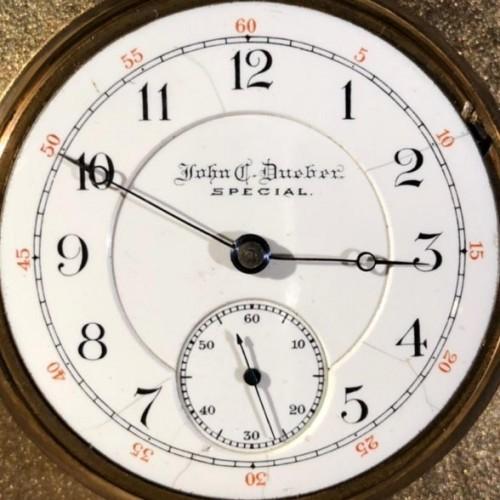 Hampden Grade John C. Dueber Special Pocket Watch Image