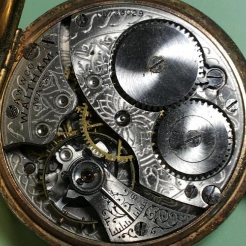 Waltham Grade No. 310 Pocket Watch Image