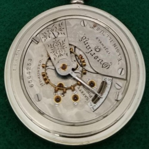 Elgin Grade 265 Pocket Watch Image