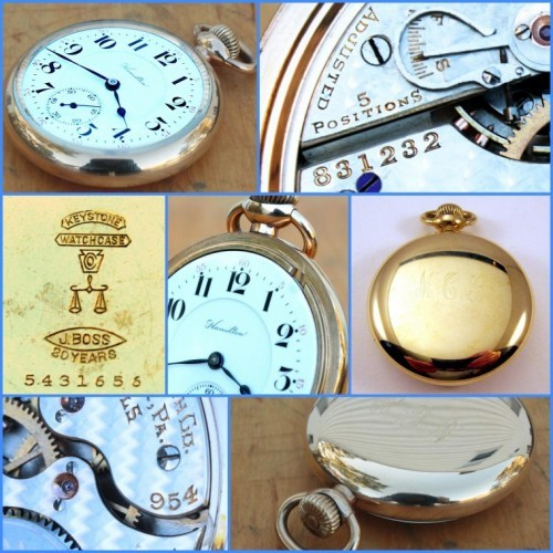Hamilton Grade 954 Pocket Watch Image