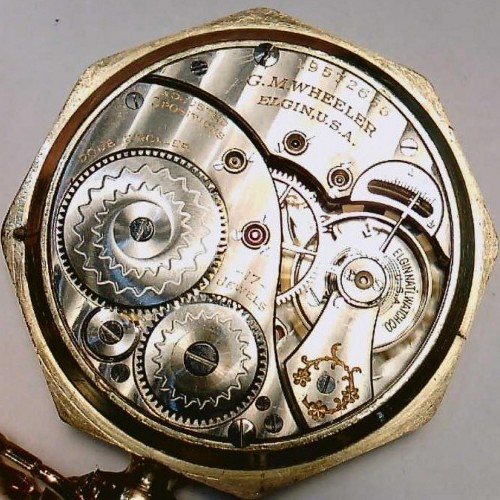 Elgin Grade 347 Pocket Watch Image