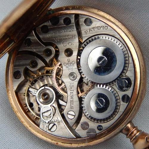 New York Standard Watch Co. Grade  Pocket Watch Image