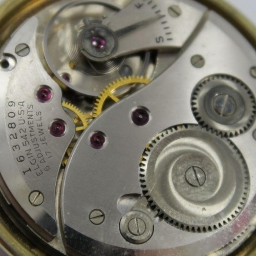 Elgin Grade 542 Pocket Watch Image