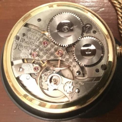 Waltham Grade Riverside Pocket Watch