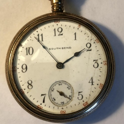 South Bend Grade 261 Pocket Watch Image