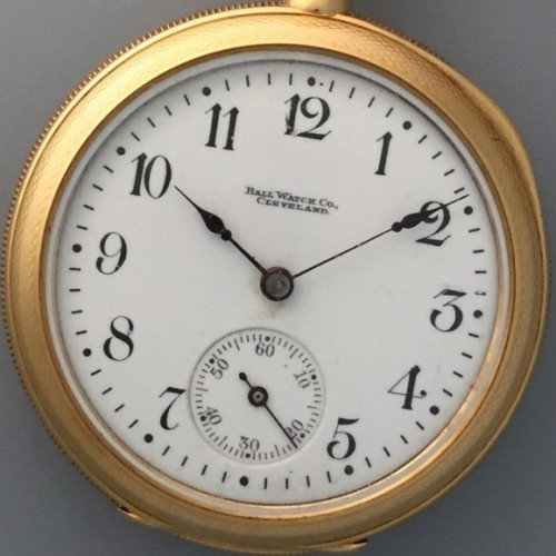 Ball Grade Unknown Pocket Watch Image