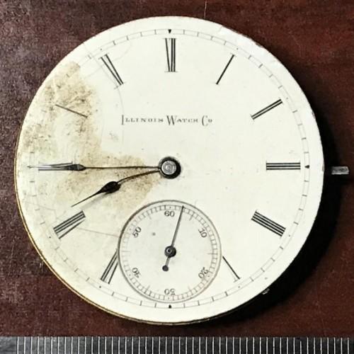 Illinois Grade 151 Pocket Watch Image