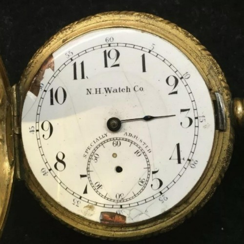 New Haven Watch Co. Grade  Pocket Watch Image