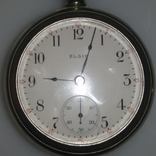 Elgin Grade 294 Pocket Watch Image