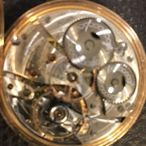 Image of Waltham No. 645 #18010930 Movement