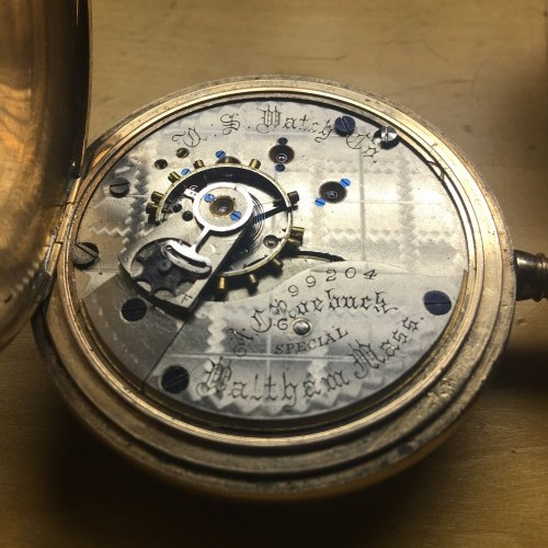 U.S. Watch Co. (Waltham, Mass) Grade U.S, Watch Co. Pocket Watch Image