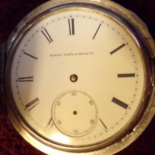 Elgin Grade 47 Pocket Watch Image