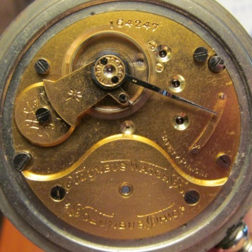 Columbus Watch Co. Grade 21 Pocket Watch Image