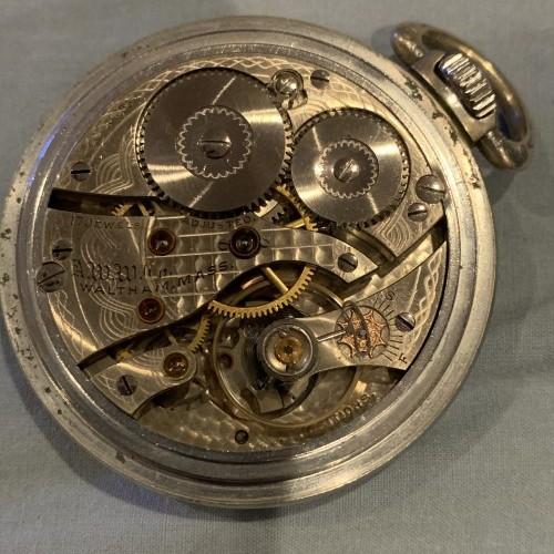 Waltham Grade No. 637 Pocket Watch Image