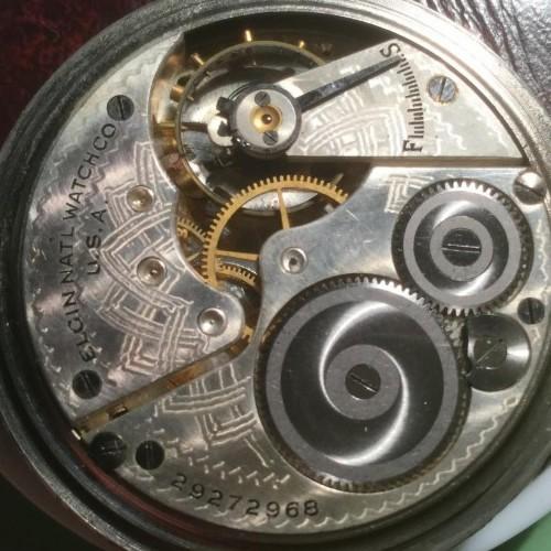 Elgin National Watch Co Pocket Watch Serial Number Lookup Identify