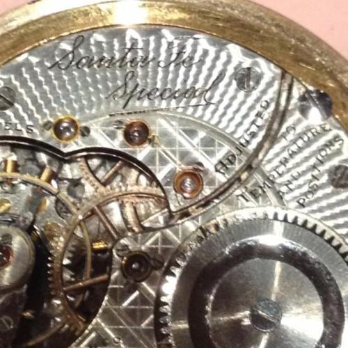 Illinois Grade 806 Pocket Watch Image