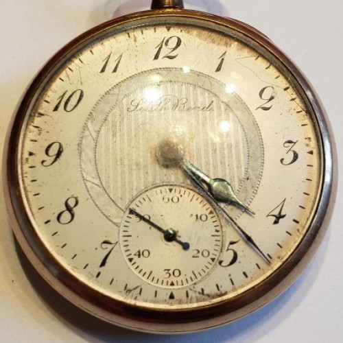 South Bend Grade 417 Pocket Watch Image