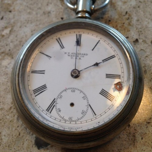 Image of New York Standard Watch Co.  #1393676 Dial
