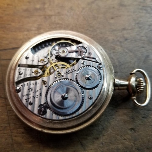 Hampden Grade No. 307 Pocket Watch Image