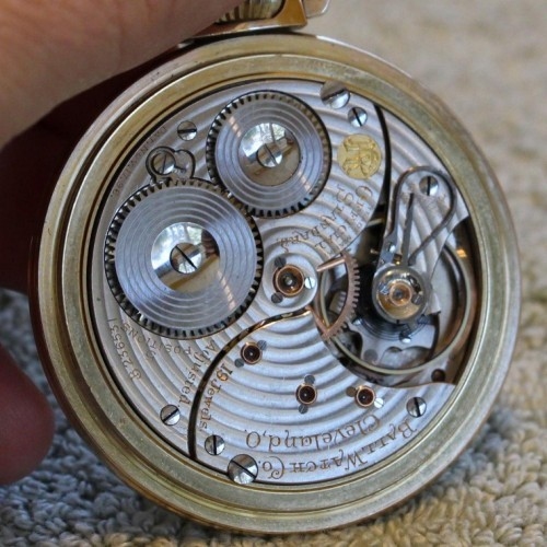 Image of Ball - Waltham Official Standard #B236531 Movement