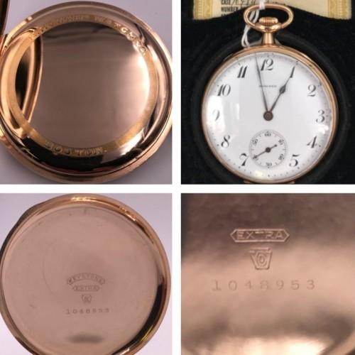 E. Howard Watch Co. (Keystone) Grade Series 6 Pocket Watch