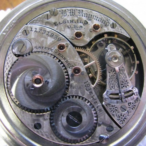 Elgin Grade 240 Pocket Watch Image