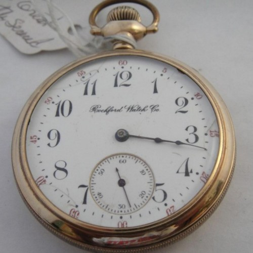 Rockford Grade 605 Pocket Watch Image