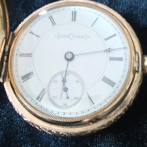 Illinois Grade 106 Pocket Watch Image