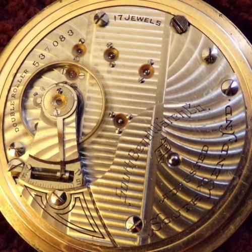 South Bend Grade 312 Pocket Watch Image