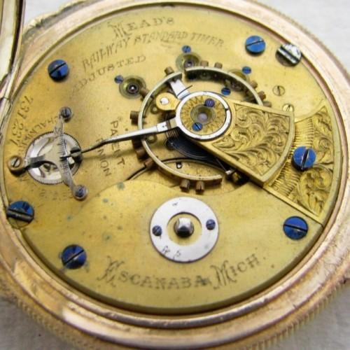 Illinois Grade 5 Pocket Watch Image