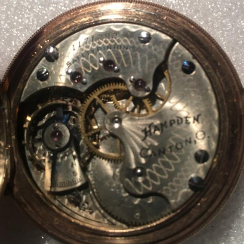 Hampden Grade No. 206 Pocket Watch Image